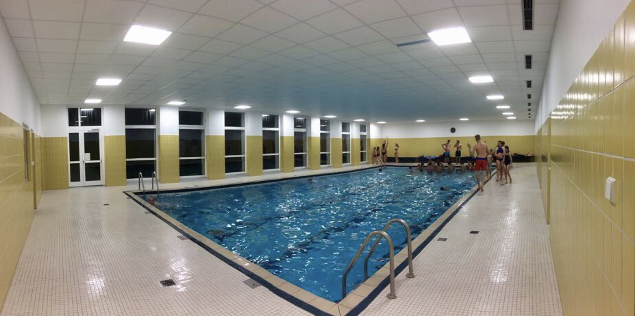 Schwimmtraining in St. Ottilien