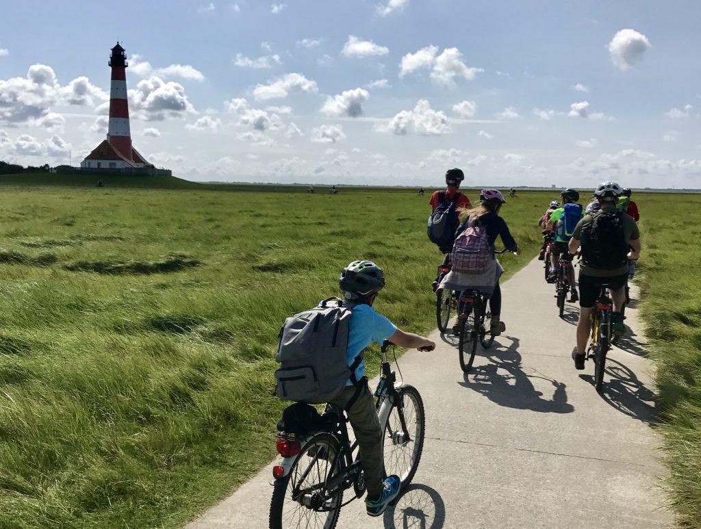 Radtour zum Westerhever Leuchtturm