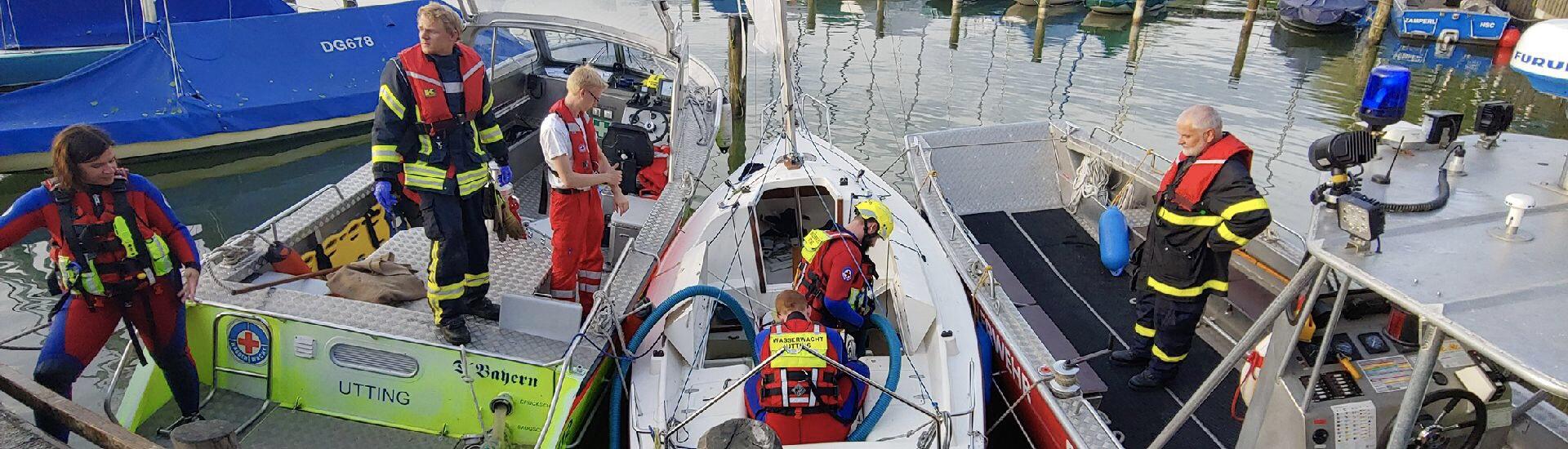 Bergung Segelboot Herrsching 2019