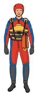 Zeichnung-Wasserretter-Wasserwacht